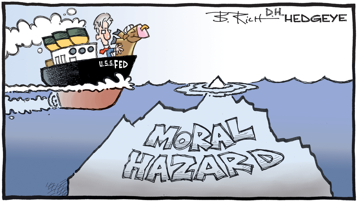 Moral Hazard Cartoon